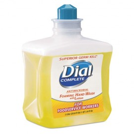 Antimicrobial Foaming Hand Soap, For Foodservice Workers,4-1 Liter-Dial®