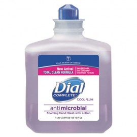 Antimicrobial Foaming Hand Wash,Cool Plum, 1000ML-Dial®