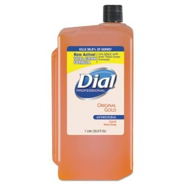 Gold Antimicrobial Liquid Hand Soap, Floral,8-1000 mL Refill, -Dial®