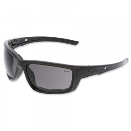 MCR Safety Swagger® SR5 Foam-Lined Spoggle Safety Glasses,Black