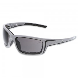 MCR Safety Swagger® SR5 Foam-Lined Spoggle Safety Glasses,Gray