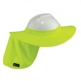 Chill-Its® Hard Hat Brim w/ Shade, Lime,
