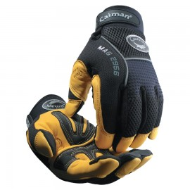 Caiman®Gold Grain Leather Palm Gloves