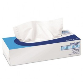 boardwalk® Office Packs Facial Tissue, 2-Ply, White,100 Sheets/Box, 30