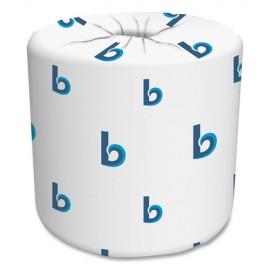 Boardwalk®Two-Ply Toilet Tissue, Septic Safe, White, 4.5 x 3.75, 500 Sheets/Roll, 96 Rolls