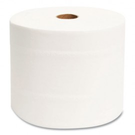 """Morcon®Small Core Bath Tissue, Septic Safe, 1-Ply, White, 3.9"""" x 4"""", 2000 Sheets/Roll, 24 Rolls"""