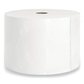 Coastwide®J-Series One-Ply Small Core Bath Tissue, Septic Safe, White, 4 x 4, 3,000 Sheets/Roll, 18 Rolls