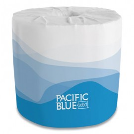 Pacific Blue ® Select Bathroom Tissue, Septic Safe, 2-Ply, White, 550 Sheet/Roll, 80 Rolls