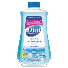 Dial Professional® Antibacterial Foaming Hand Wash, Spring Water Scent, 32 oz