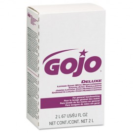 Gojo® NXT Deluxe Lotion Soap with Moisturizers, Light Floral Liquid, 2,000 mL Refill,