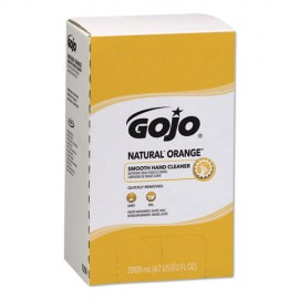 Gojo® Natural Orange Smooth Lotion Hand Cleaner, Citrus Scent, 2,000 mL Bag-in-Box Refill
