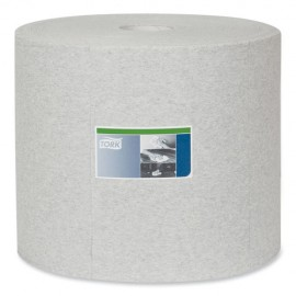Tork® Industrial Cleaning Cloths, 1-Ply, 12.6 x 13.3, Gray, 1,050 Wipes
