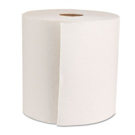 """Green Universal Roll Towels, Natural White, 8""""x800ft, 6 Rolls"""