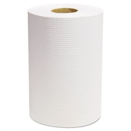 """Select Roll Paper Towels, White, 7 7/8"""" x 350 ft, 12/Carton"""