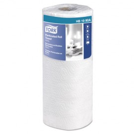 Tork® Universal Perforated Kitchen Towel Roll, 2-Ply, 11 x 9, White, 84/Roll, 30Rolls
