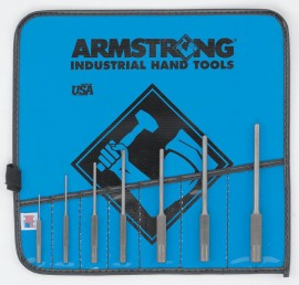 Armstrong® 7 pc Roll Pin Punch Set Vinyl Pouch