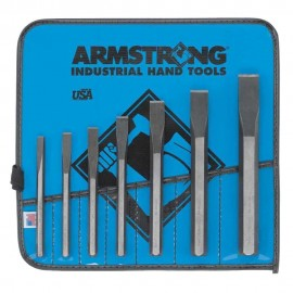 Armstrong® 5 pc Cold Chisel Set Vinyl Pouch