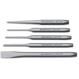 Gearwrench® 5pc Punch & Chisel Set