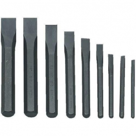 Williams Tools® 9 Pieces Cold Chisel Roll Pouch
