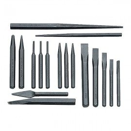 Williams Tools® 17 Pieces Punch & Chisel Set