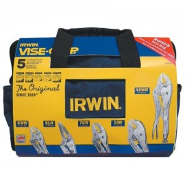 Vise-Grip® The Original 5-Pc Locking Pliers Sets with Tool Bag