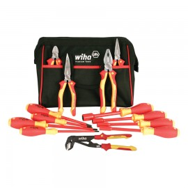 Wiha® Tools Insulated Pliers, Cutters, Screwdrivers and Nut Drivers 13P