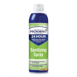 Microban ® 24 Hour Disinfectant Sanitizing Spray, 6/15 oz Cans