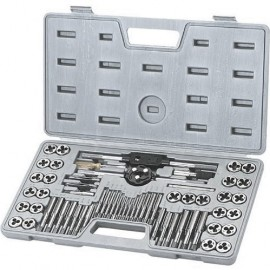 64 Pc. Carbon Tap and Round Die Set