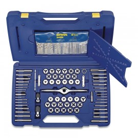 116-pc Machine/Fractional/Metric Self Alignment Tap and Die Sets