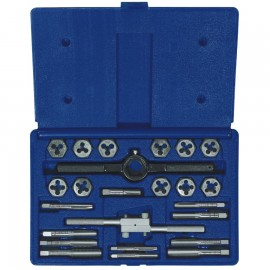 24-pc Fractional Tap & Hex Die Sets