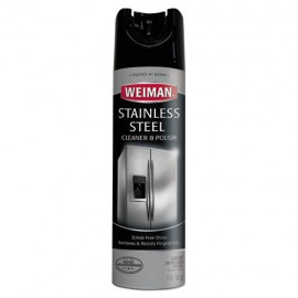 WEIMAN®Stainless Steel Cleaner and Polish, 17oz Can
