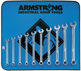 10 Piece Combination Wrench Set Armstrong