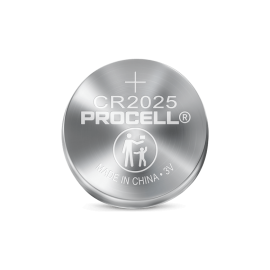 Procell® Lithium Coin 2025, 3V Batteries,5P