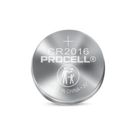 Procell® Lithium Coin 2016, 3V Batteries,5P
