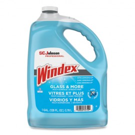 Windex®Glass Cleaner with Ammonia-D, 1USG