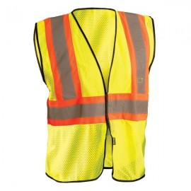 OccuNomix Class 2 Mesh Two Tone Safety Vest