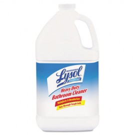 Heavy-Duty Disinfectant Bathroom Cleaner, 128oz-Lysol®