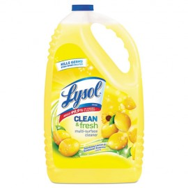 Clean and Fresh Multi-Surface Cleaner, Lemon,144oz-Lysol®
