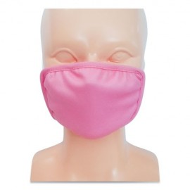Kids Face Mask, Fits 6 to 12 Year  Pink, 50/Carton