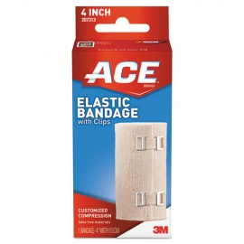 """Elastic Bandage with E-Z Clips, 4"""" x 64""""-ACE®"""