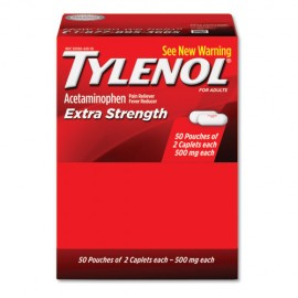 Extra Strength Acetaminophen, Two-Pack, 50CT-Tylenol®