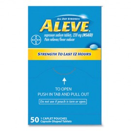 12 Hour Pain Reliever Tablets, 50CT-Aleve®