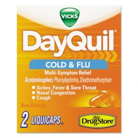Severe Cold and Flu Caplets, Daytime, Refill Pack, 2 Caplets/Packet, 20CT-DayQuil®