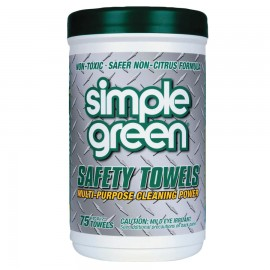 Simple Green® Multi-Purpose Safety Towels, 6/75CT