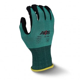 Radians® AXIS™ Cut Protection Level A2 Foam Nitrile Coated Gloves,1PR