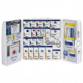 50-Person SmartCompliance Standard Industrial First Aid Kit w/ Medications