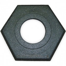 Cortina Recycled Rubber Base (For 0375216CSP), Black,