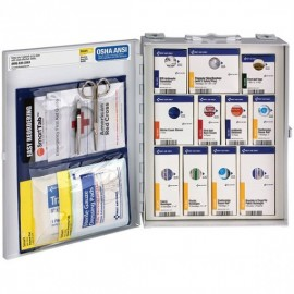 50-Person SmartCompliance Standard Industrial First Aid Kit w/o Medications