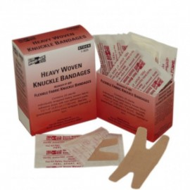 """Knuckle Fabric Bandages, 1 1/2"""" x 3"""", 25/Box"""