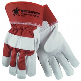 MCR Safety® Goatskin Leather Gloves For Glory